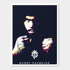 Pop Art Illustration, Manny Pacquiao, Thing 1, Batman, Fan Art, Colorful, Make It Yourself, Superhero, Art Prints