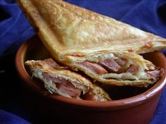 Bread-free jaffles: Puff Pastry Toasted Sandwiches In Your Sandwich Maker! Recipe - Cheese.Food.com - 202476