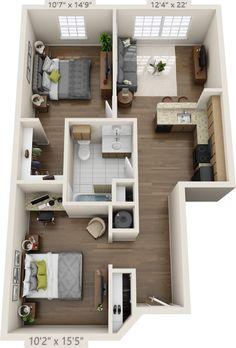 House sims 4 build 66 New Ideas - Sims 4 Sims 4 House Plans, Sims 4 House Building, Modern House Plans, Small House Plans, House Floor Plans, Sims 2 House, Sims 4 Houses Layout, House Layout Plans, House Layouts