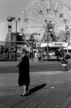 Coney Island, photo by Oliver Abbott, via Katie-Louise Ford