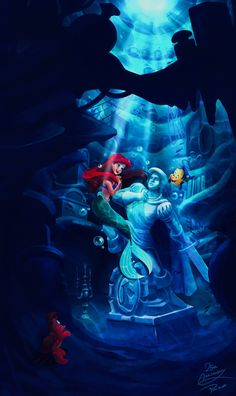 ariel, disney, the little marmaid, the little mermaid Disney Princesses And Princes, Disney Princess Ariel, Mermaid Disney, Disney Little Mermaids, Ariel The Little Mermaid, Mermaid Art, Aladdin Princess, Princess Aurora, Princess Bubblegum