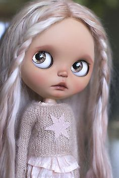OOAk Custom Blythe Art Doll - Sepia- by Cupcake Curio