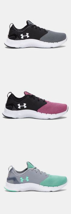 Women's Under Armour Flow Solid. Seamless overlays add structure & support without adding bulk. Three color options to reflect your style.