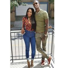 2 she even stuck around when his teeth were fucked up. They the cutest. Black Marriage, Young Thug, Hip Hop Artists, My Boo, Fashion Colours, Black Love, Mens Fashion, Fashion Trends, Trendy Outfits