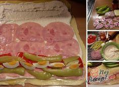 Pizza kornoutky se šunkou a sýrem Polish Recipes, Party Snacks, Diy Food, Holidays And Events, Finger Foods, Food Art, Sausage, Good Food, Brunch