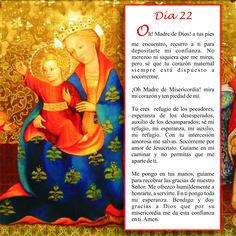Oración día 22, Mayo mes de María