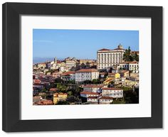 Framed Print-Porto, cm Frame and mount made in Australia Poster Prints, Framed Prints, Canvas Prints, Travel Images, Made In America, Heritage Site, Photo Gifts, Fine Art Prints, Portugal