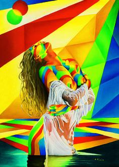 Desire #oiloncanvas #art