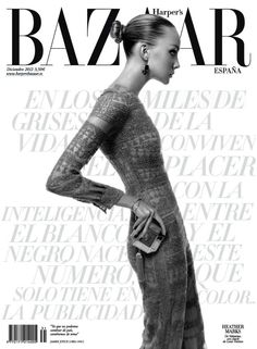Heather Marks by Xevi Muntané for Harper's Bazaar Spain