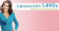 Este mes, la liposucción a un precio que no puedes desaprovechar: 1.490 € #promoción #oferta http://www.clinicasdiegodeleon.com/tratamientos/corporales/eliminar-grasa/liposuccion/