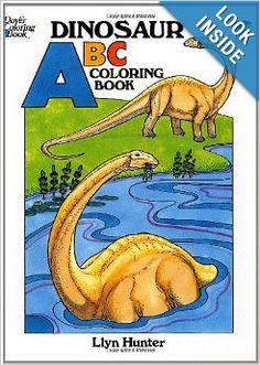 Dinosaur ABC Coloring Book (Dover Coloring Books): Llyn Hunter, Coloring Books, Dinosaurs: 9780486257860: Amazon.com: Books