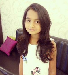 long layered haircut for girls with thick hair