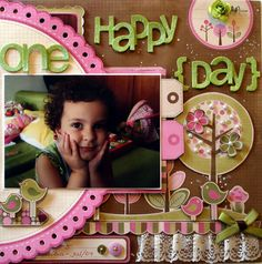 Scrapbooking Projects :: OneHappyDay1-byLuMinoti.jpg picture by luminoti - Photobucket