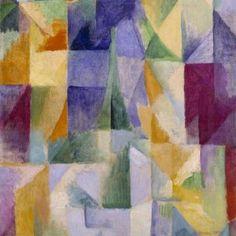 Windows Open Simultaneously (First Part, Third Motif) 1912 Robert Delaunay…