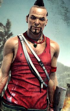 Vaas Montenegro - Pictures & Characters Art - Far Cry 3