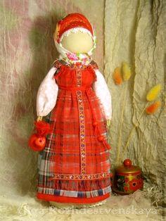 Russian Folk, Russian Art, Corn Husk Dolls, Inspiring Things, Folk Art, Doll Clothes, Decoration, Arts And Crafts, Toys