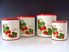 1000+ images about vintage canister sets on Pinterest | Vintage ...