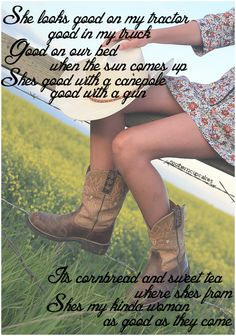 my kinda woman-justin moore. <3  yayyy for stagecoach!!!