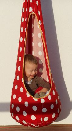 Hanging seat for children, hanging chair, relaxing chair, relaxing swing, indoor swing, outdoor swing, hammock chair - in a different color