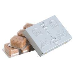 "Bleuet Pocket Stove - 6 Fuel Cubes, Steel - ultracompact 0.75"" x 3"" x 4"" folded size, 3.2 oz"