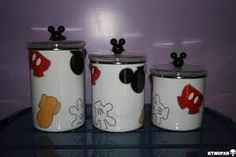 Mickey Canister Set