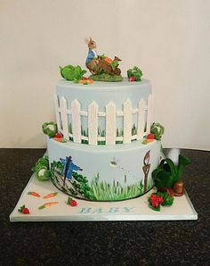Peter Rabbit cake - Cake by Galyna Harb