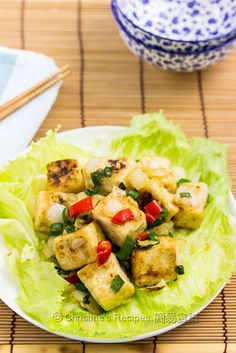 The delicious tofu dish is often served in Chinese restaurants. Now you can make your own at home in 15 minutes.