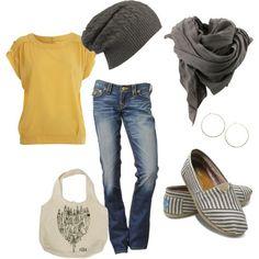 grey clothes | Yellow & Grey | Clothes