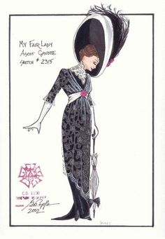 """My Fair Lady"" - Ascot - Gregory Poplyk, Costume Design"