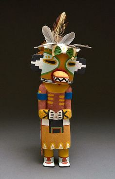 Lizard Kachina Doll by Fannon Mowa (Hopi)