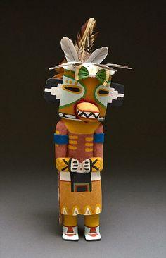 Lizard Kachina Doll by Fannon Mowa (Hopi)