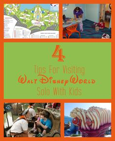 Planning a solo trip to Disney with young kids in tow? Here's what you need to know before you go!