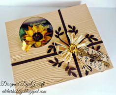 Handmade Atelier: Cutie handmade pentru felicitarea Floarea Soarelui...