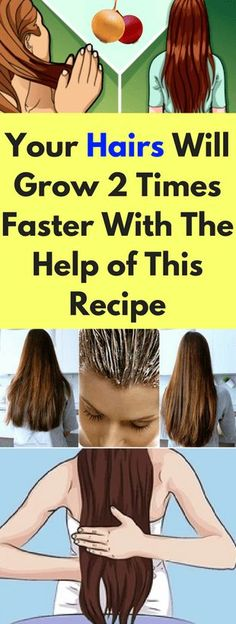 Your Hairs Will Grow 2 Times Faster With The Help of This Recipe – healthycatcher
