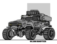 cars, trucks and two bicycles Military Gear, Military Vehicles, Sci Fi Armor, Expedition Vehicle, Futuristic Cars, Car Drawings, Automotive Art, Armored Vehicles, Car Wallpapers