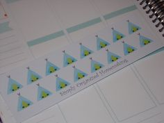 Tent Camping Stickers / Erin Condren Life Planner / Scrapbooking / Filofax by katy010305 on Etsy