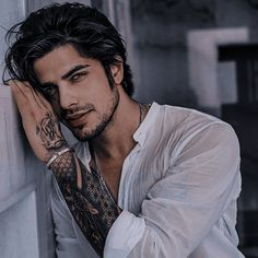 Art Photography Portrait, Boy Photography Poses, Daddy Aesthetic, Book Aesthetic, Cool Boy Image, Hottest Guy Ever, Just Beautiful Men, Dark Men, Book Characters