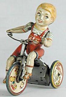 tin cyclist
