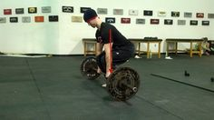 Tip: For Deadlifts, Put Your Armpits Over the Bar. Here's why. #deadlift
