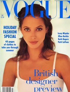 Christy Turlington: Vogue