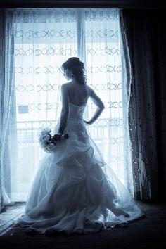 Bridal Portrait - Elegant Gold and Ivory Tampa Floridan Palace Hotel Wedding – Tampa Wedding Flowers Northside Florist