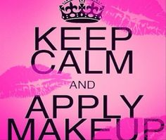 Keep Calm and Apply Avon Makeup!!! Www.youravon.com/drosloniec. Enjoy visiting my Avon Website.   It's also easy to become an Avon Representative and start your OWN Avon business. Www.startavon.com. reference code: drosloniec. It's incredible - only $10 to start your own Avon business.  Start earning income AND purchasing your make up and so much more at a discount!!!