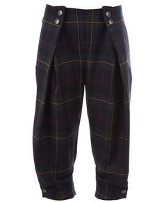 Cropped tartan trouser Vivienne Westwood