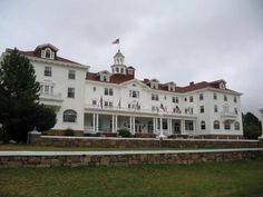 Estes Parks Stanley Hotel, Colorado. The most acclaimed haunted place in America. (spent my 13th bday there)