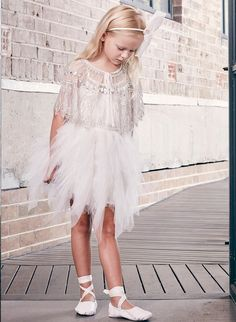 8 Adorable & Untraditional Flower Girl Dresses - Inspired By This