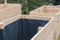 Build a raised bed yourself: explained step by step with many pictures - - # G . - Build a raised bed yourself: step by step with lots of pictures explained – # garden - Diy Outdoor Furniture, Pallet Furniture, Garden Furniture, Furniture Ideas, Modern Furniture, Raised Garden Beds, Raised Beds, Garden Boxes, Garden Planters
