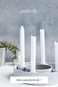 Zaubere Dir einen besonderen Hingucker in der Adventszeit mit dem beliebten Adventskranz The Ring von der Marke House Doctor. 🎄