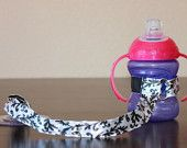 Bottle Tether, Toy Tether, Sippy Strap with Suction Cup-Pink Polka Dots. $9.00, via Etsy. Like A Mom, Pink Polka Dots, Playground, Water Bottle, Trending Outfits, Toys, Unique Jewelry, Handmade Gifts, Vintage