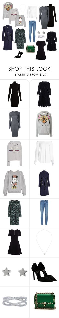 """My wardrobe part 2"" by cherkasova-kristina on Polyvore featuring мода, Wolford, Theory, Cashmere in Love, Gucci, True Religion, Steffen Schraut, Christopher Kane, GUESS и M Missoni"