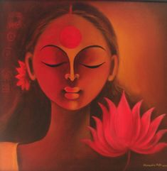 Indian Paintings - Buy Manisha Raju Painting: KAS-MRaju-002